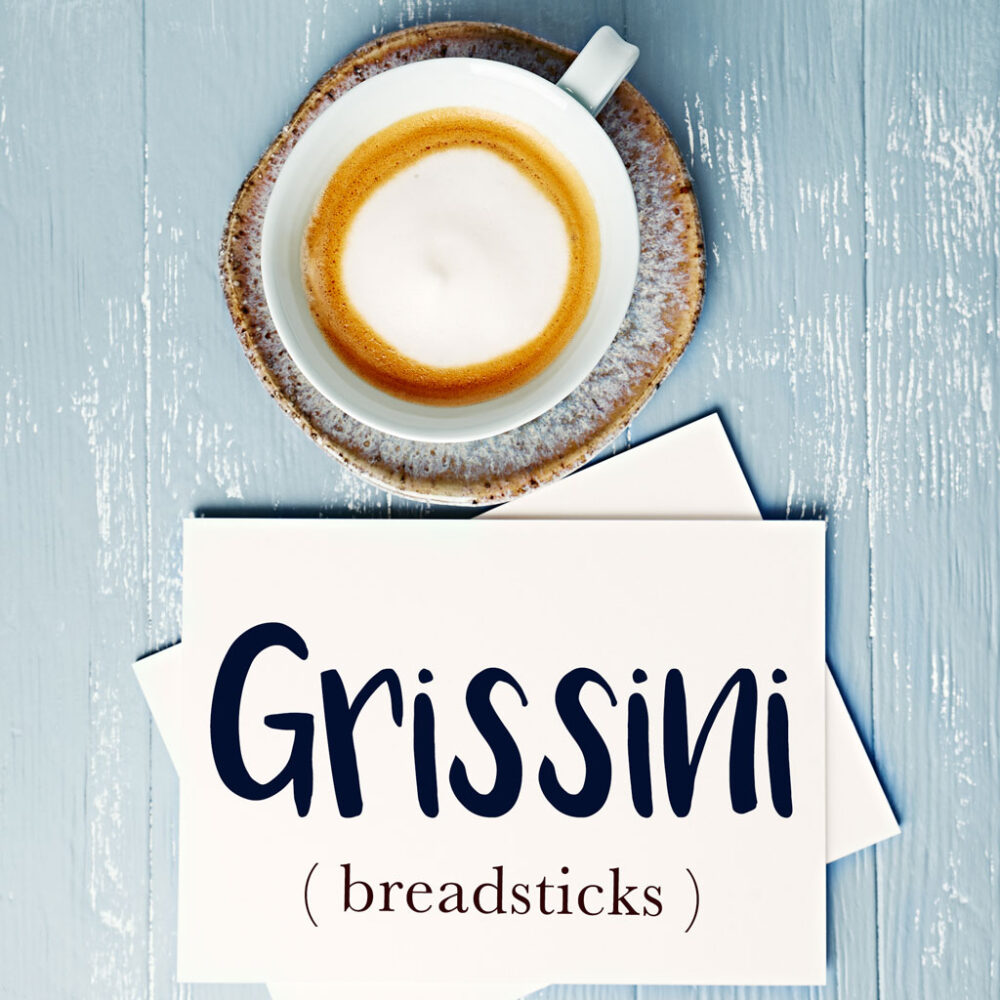 Italian Word of the Day: Grissini (breadsticks)