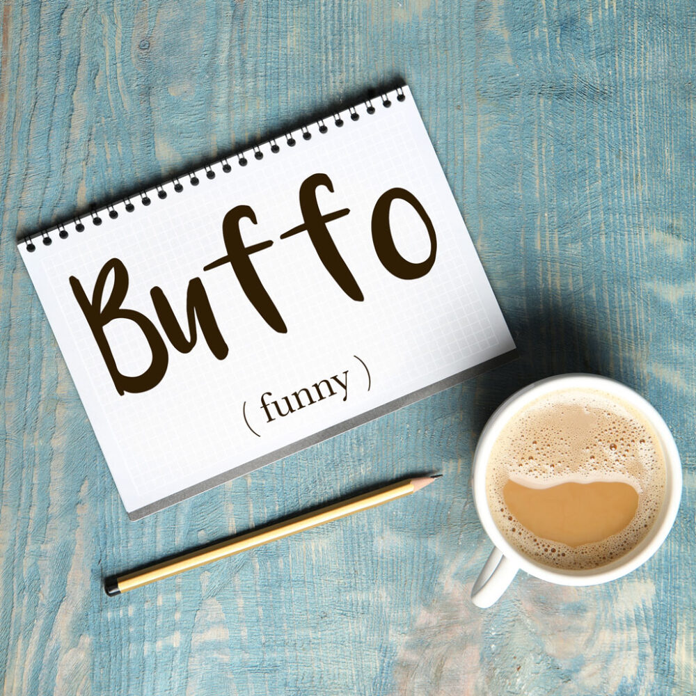 Italian Word of the Day: Buffo (funny)