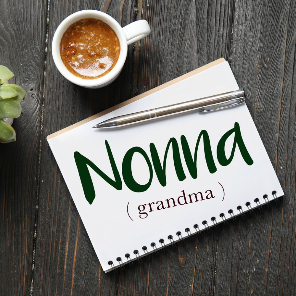 Italian Word of the Day: Nonna (grandma)