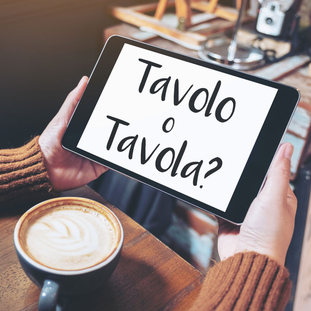 Tavolo vs Tavola in Italian – What's the difference?