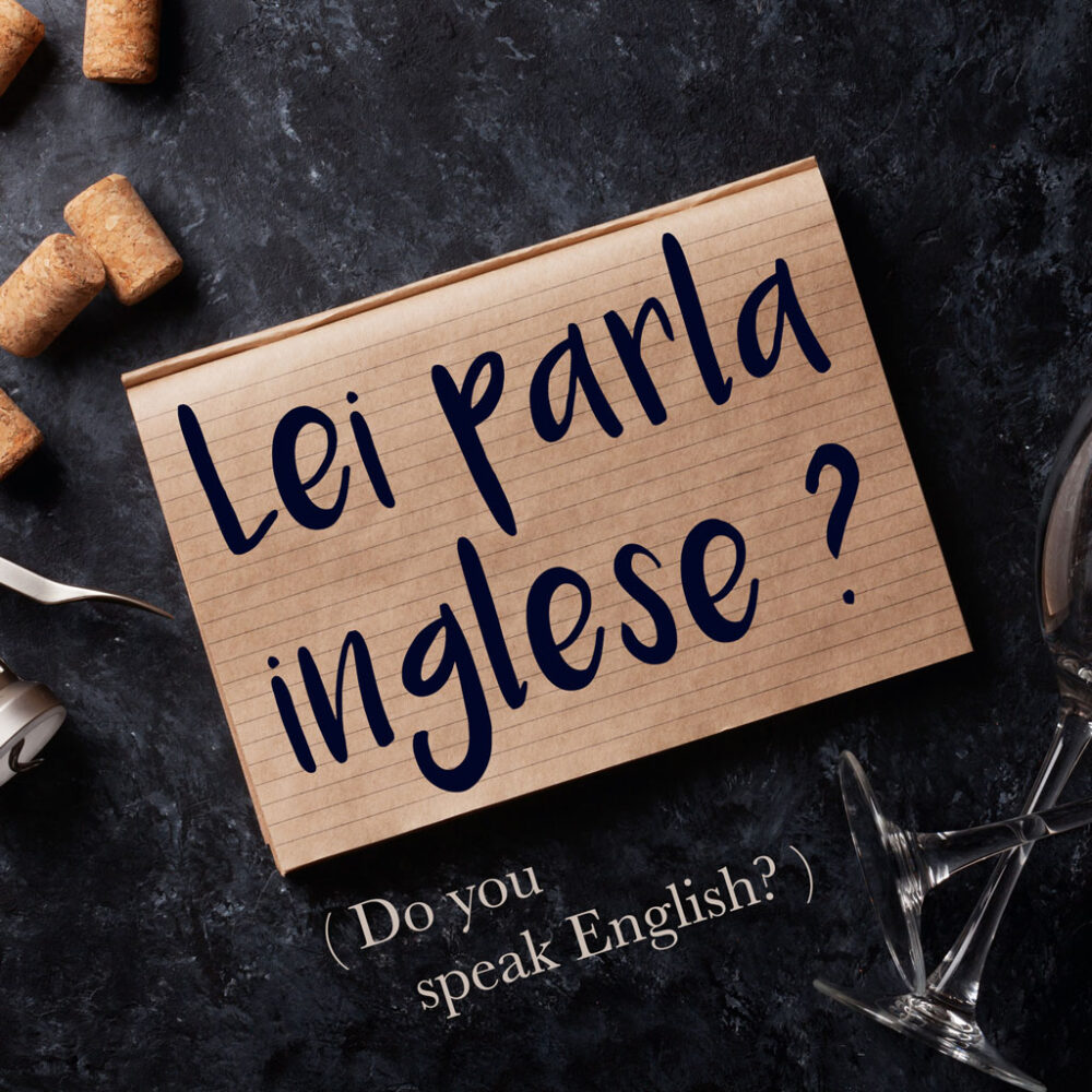 Italian Phrase of the Week: Lei parla inglese? (Do you speak English)