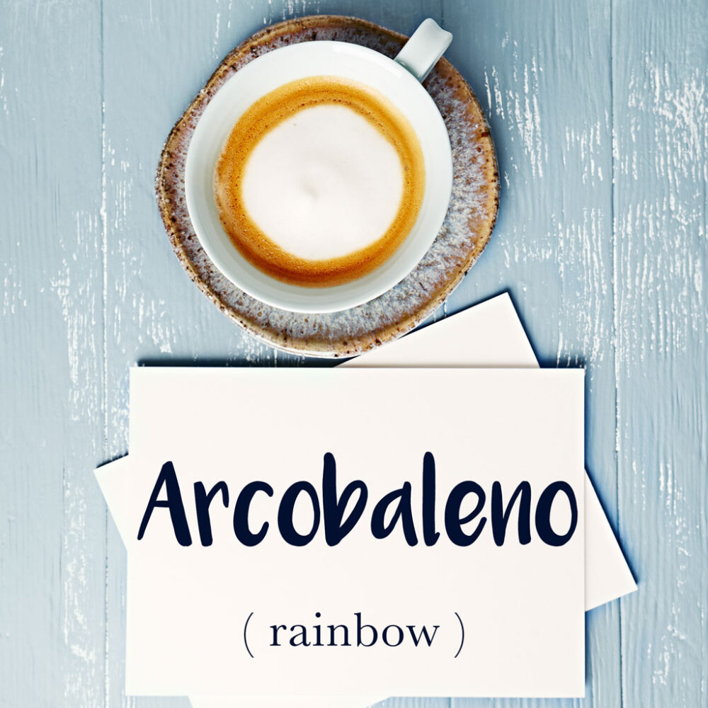 Italian Word of the Day: Arcobaleno (rainbow)