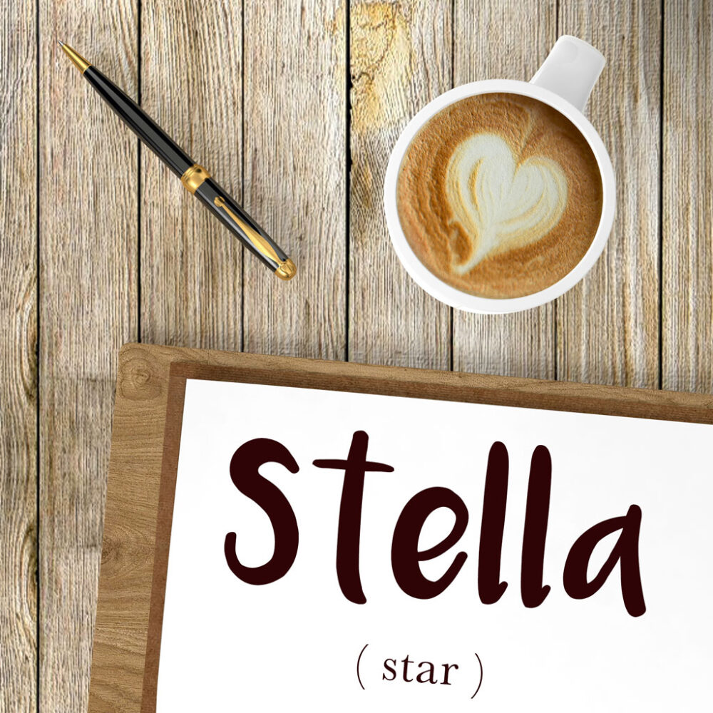 Italian Word of the Day: Stella (star)