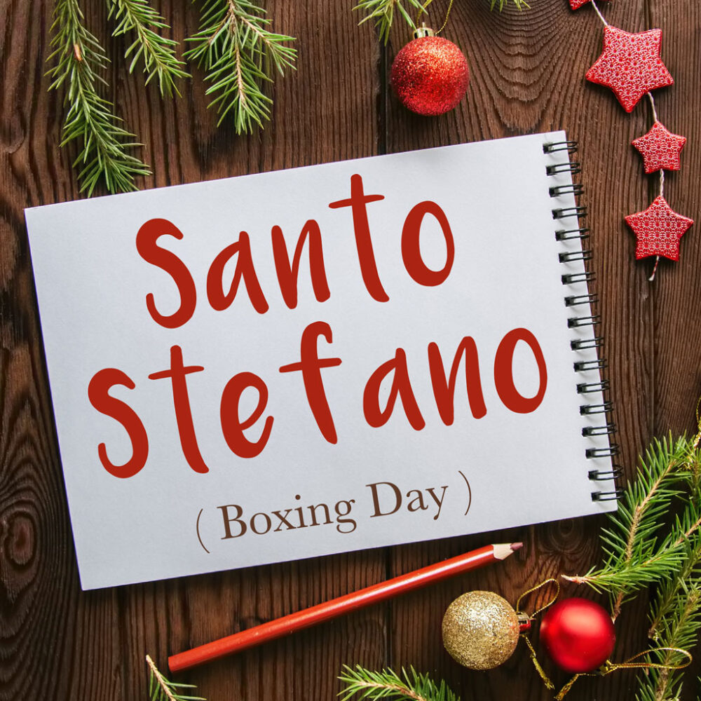 Italian Word of the Day: Santo Stefano (Boxing Day)
