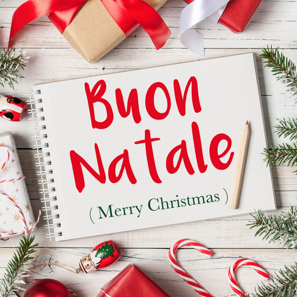 Italian Phrase of the Week: Buon Natale! (Merry Christmas!)