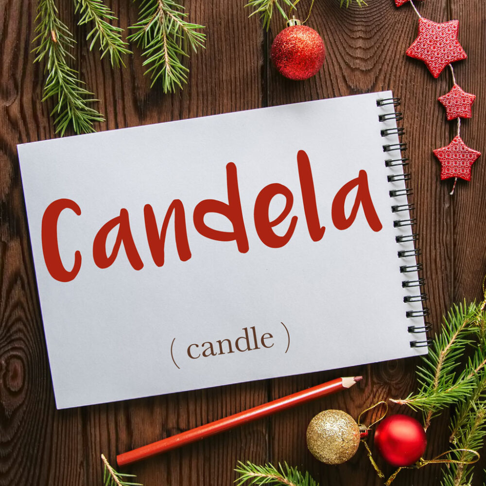 Italian Word of the Day: Candela (candle)