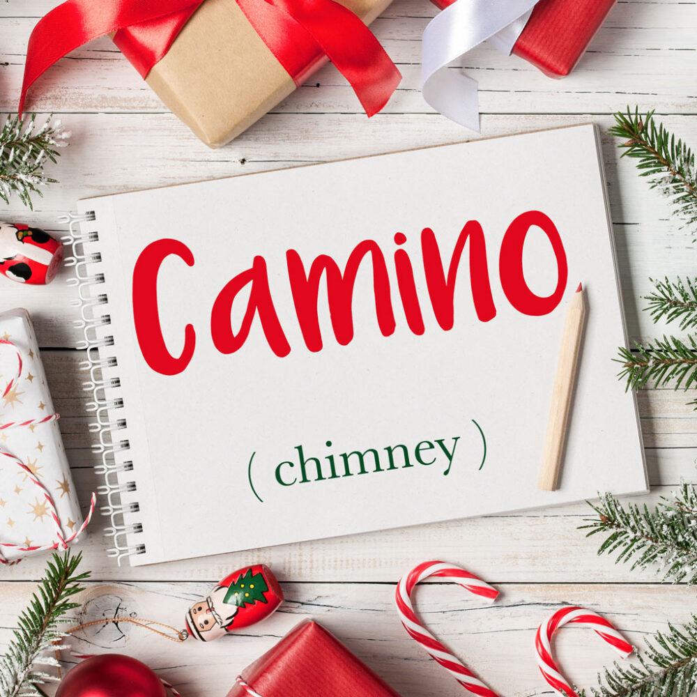 Video Caminetto Per Tv italian word of the day: camino (chimney) – daily italian words
