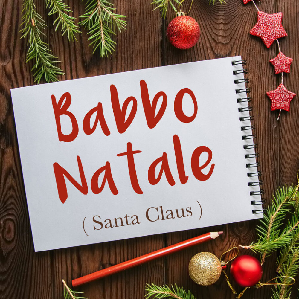 Italian Word of the Day: Babbo Natale (Santa Claus)
