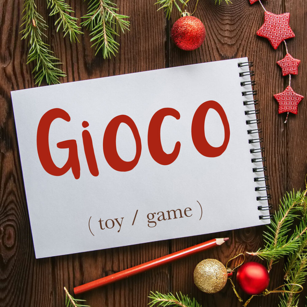 Italian Word of the Day: Gioco (toy, game)