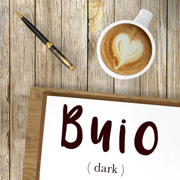 Italian Word of the Day: Buio (dark)