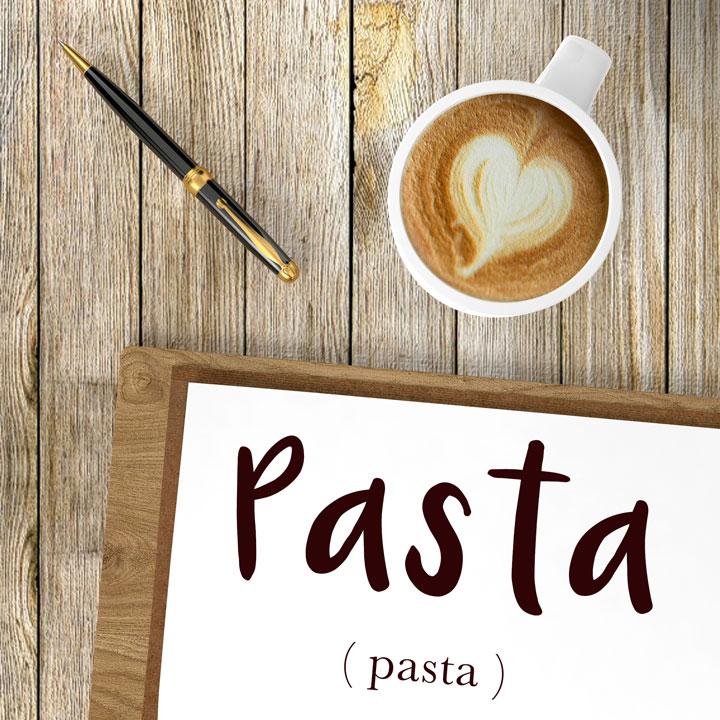 italian word for pasta