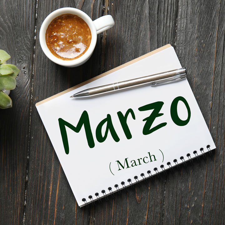 Italian Word of the Day: Marzo (March)