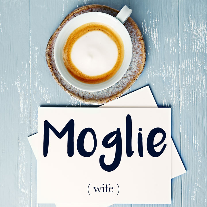 Italian Word of the Day: Moglie (wife)