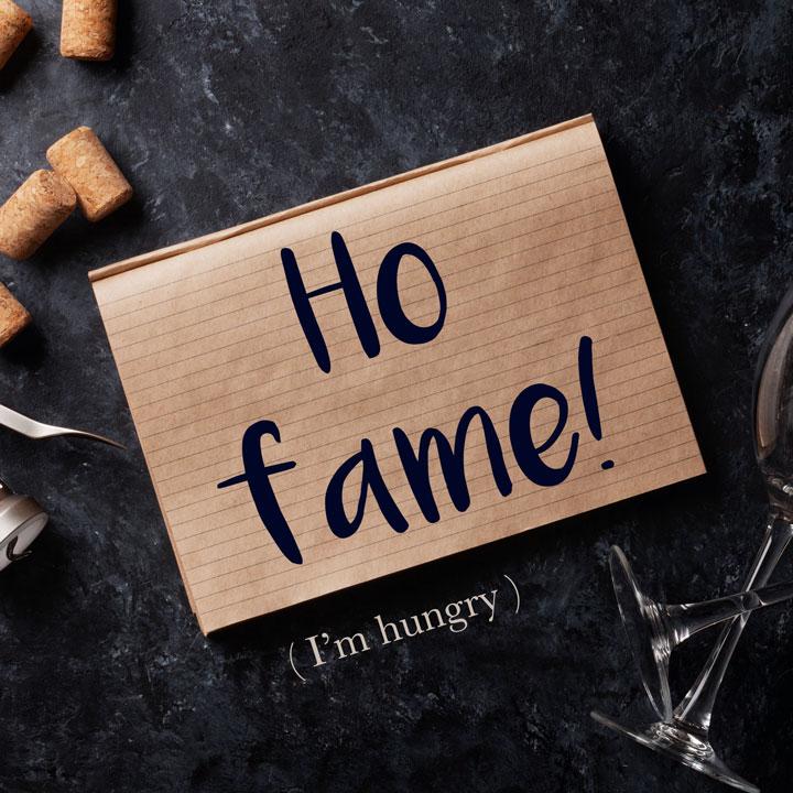 Italian Phrase of the Week: Ho fame! (I'm hungry!)