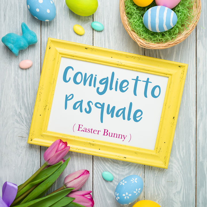 Italian Word of the Day: Coniglietto Pasquale (Easter Bunny)