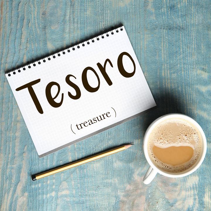 Italian Word of the Day: Tesoro (treasure)