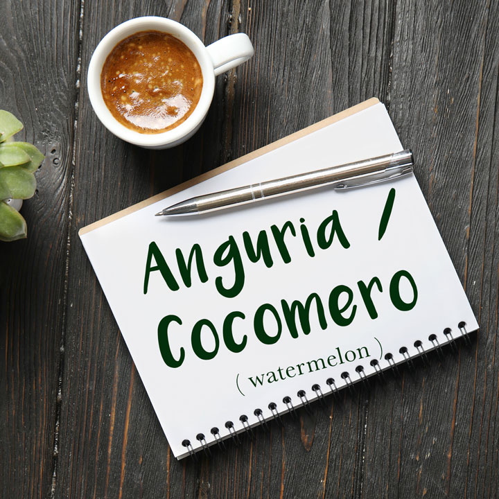 Italian Word of the Day: Anguria / Cocomero (watermelon)