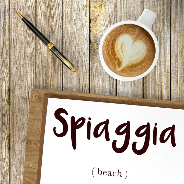 Italian Word of the Day: Spiaggia (beach)