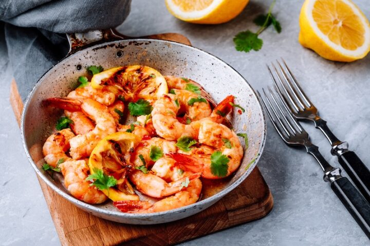 hot shrimp dish