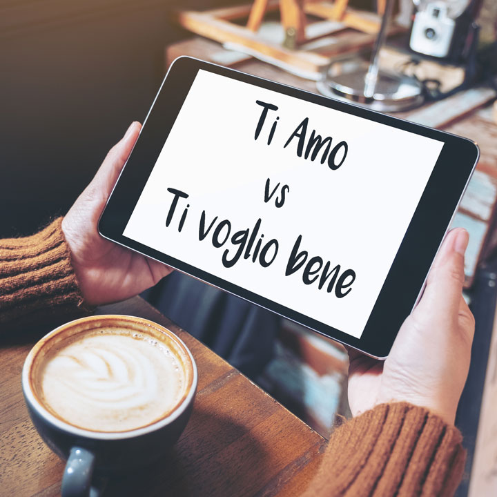Ti amo vs Ti voglio bene: What's the difference?