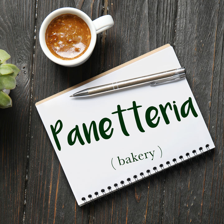 Italian Word of the Day: Panetteria (bakery)