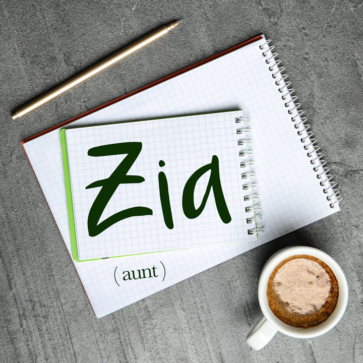 Italian Word of the Day: Zia (aunt)