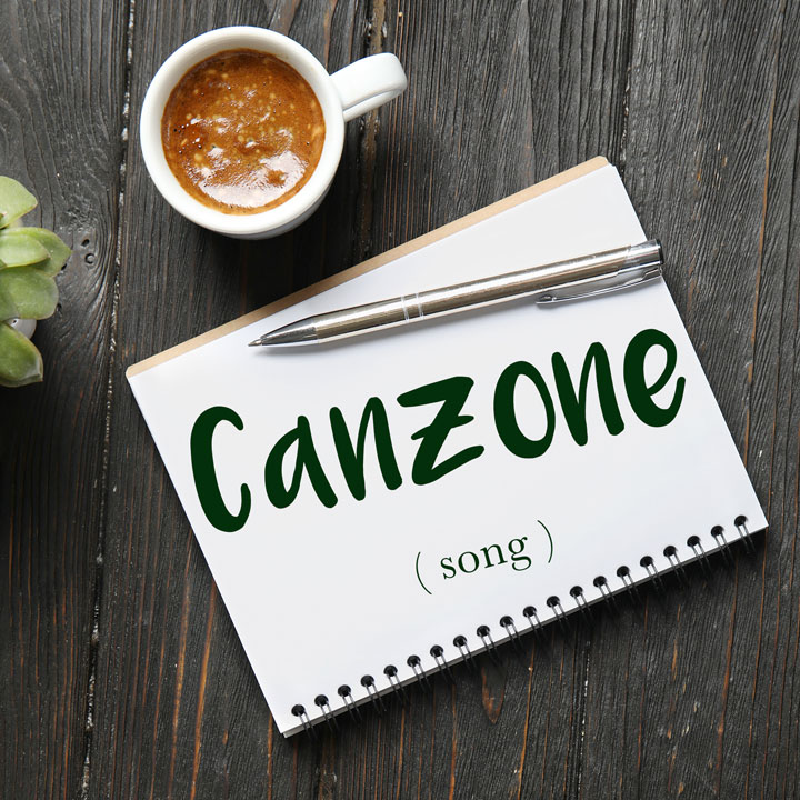 Italian Word of the Day: Canzone (song)