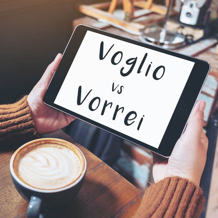Voglio vs Vorrei: What's the difference?