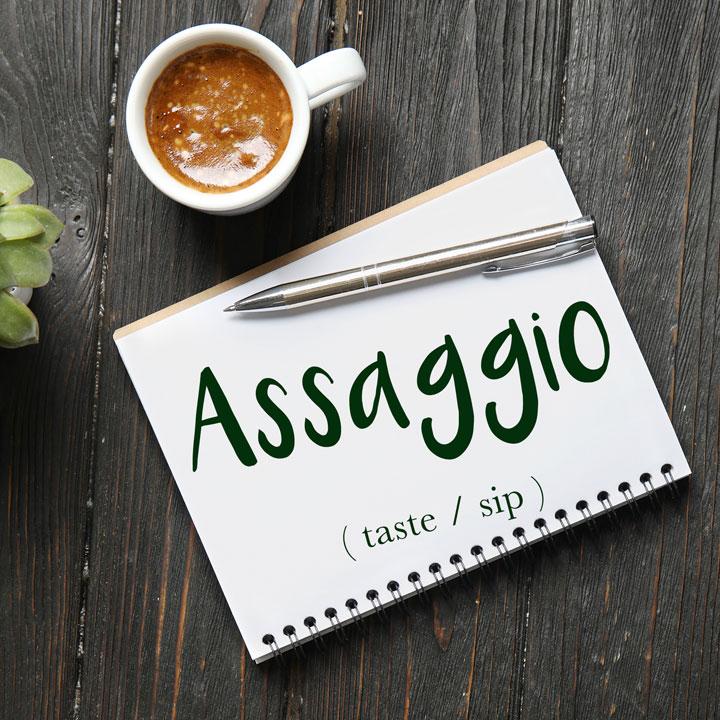 Italian Word of the Day: Assaggio (taste / sip)