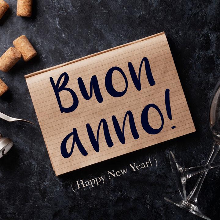 Italian Phrase: Buon Anno! (Happy New Year!)