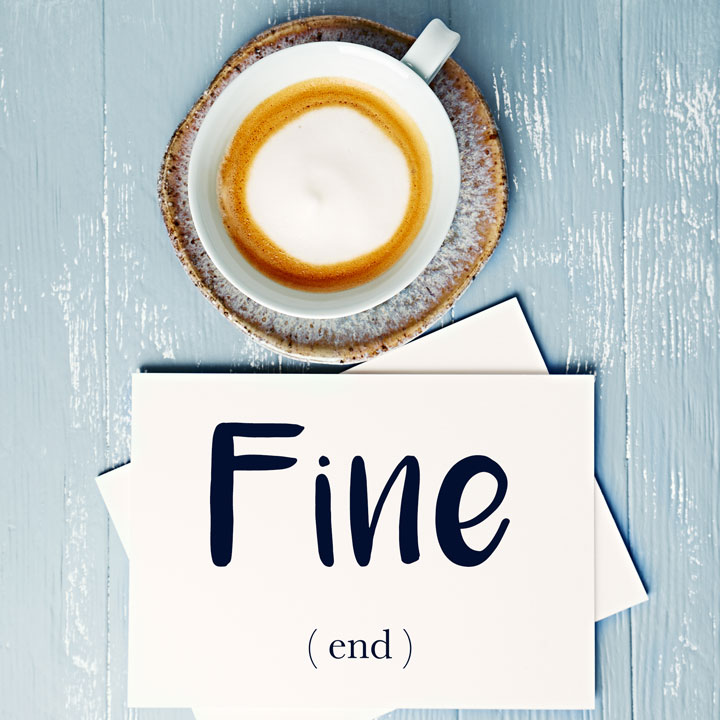 Italian Word of the Day: Fine (end)