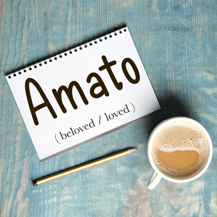 Italian Word of the Day: Amato (beloved / loved)
