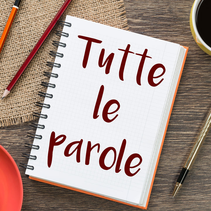 Database of Italian Words and Phrases